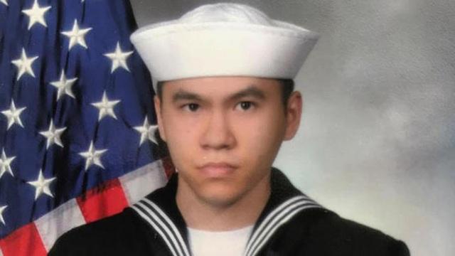 Thủy thủ Ngoc T Truong Huynh. (Ảnh: US Navy)