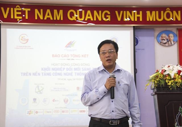 Ông Nguyễn Khắc Thanh, Phó Giám đốc Sở Khoa học và Công nghệ TP.HCM