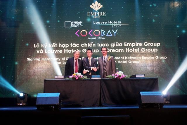 Lễ ký kết giữa Tập đoàn Empire và Dream Hotel Group & Lourve Hotels Group