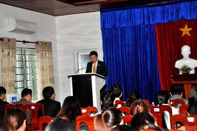 PGS.TS. Trần Xuân Bách – Phó Hiệu trưởng nhà trường