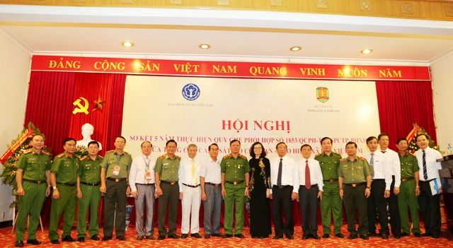 Hội nghị Sơ kết 5 năm thực hiện quy chế phối hợp số 1853/QCPH-TCCSPCTP-BHXHVN giữa Tổng cục Cảnh sát, Bộ Công an – Bảo hiểm Xã hội Việt Nam và Lễ ký quy chế phối hợp giai đoạn 2017-2022.