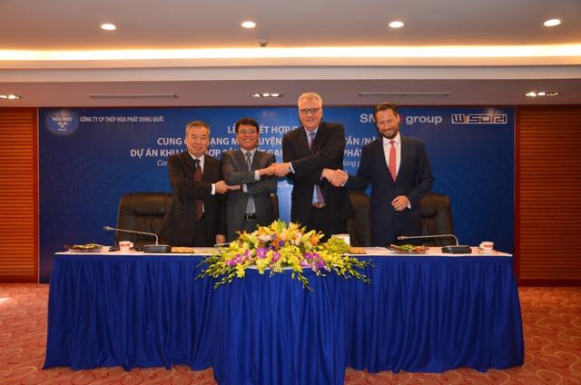 Ký kết hợp đồng thiết bị luyện thép cho dự án tại Dung Quất - 2