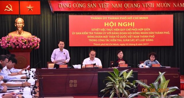 TPHCM kỷ luật nhiều cán bộ, đảng viên vì chậm giải quyết công việc cho dân, vi phạm về quản lý thu chi...
