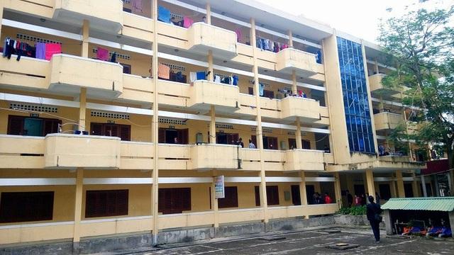 Ký túc xá Trường Đại học Quảng Bình, nơi xảy ra sự việc