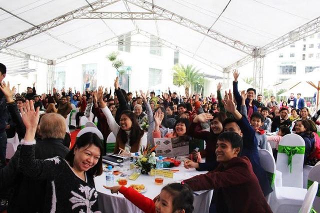 Với chính sách hỗ trợ lãi suất vay 0%, buổi ra mắt các tòa mới tại An Bình City nhận được sự quan tâm của đông đảo khách hàng