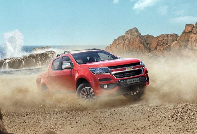 Chevrolet mời khách hàng lái thử Colorado mới - 1
