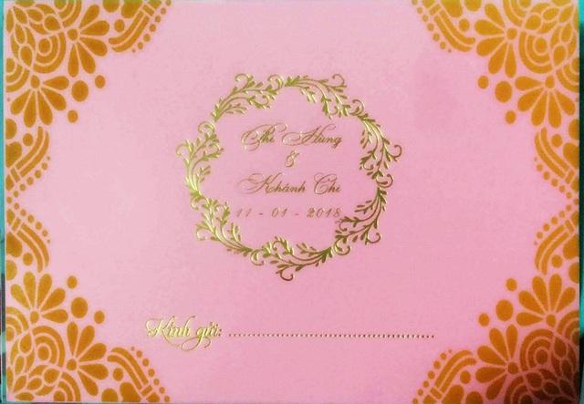Lâm Khánh Chi hé lộ thiệp cưới và chi tiền tỷ cho váy cưới - 1