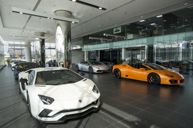 Lamborghini mở đại lý lớn nhất thế giới ở Dubai - 7