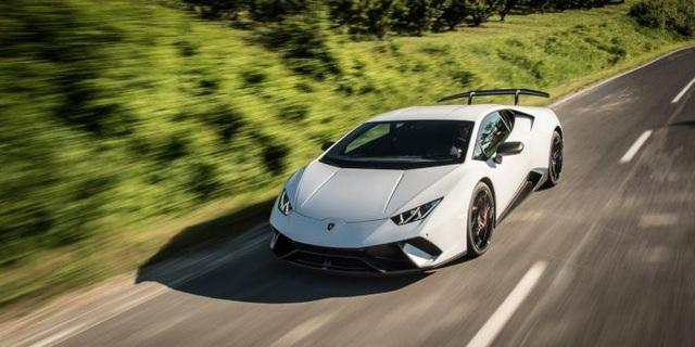 Lamborghini đưa động cơ hybrid sạc điện lên siêu xe Huracan - 1