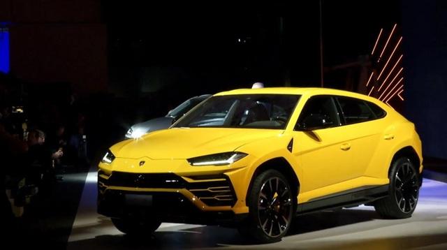 Lamborghini chính thức trở lại phân khúc SUV - 4