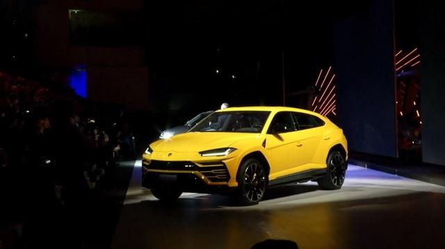 Lamborghini chính thức trở lại phân khúc SUV - 1