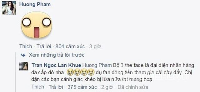 Phạm Hương cũng ngỡ ngàng vì thông tin trên.