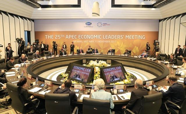 Hội nghị các nhà lãnh đạo kinh tế APEC đã thống nhất và ra Tuyên bố Đà Nẵng.