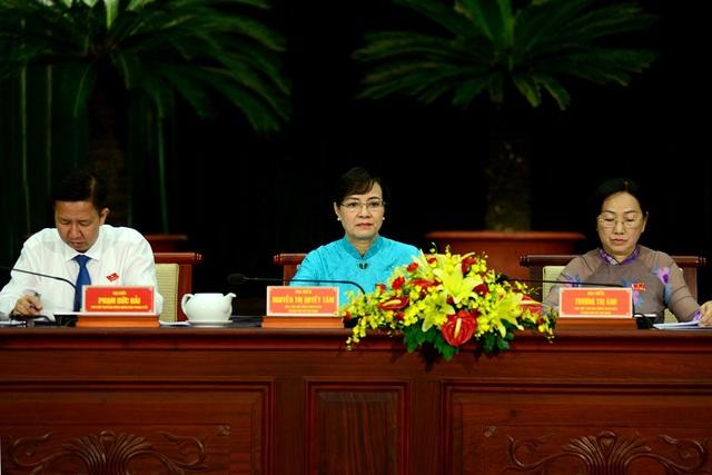 Lãnh đạo HĐND TPHCM có nhiều nhiệm vụ quan trọng trong năm 2018 về triển khai thí điểm cơ chế, chính sách đặc thù cho TPHCM (ảnh Nguyễn Quang)