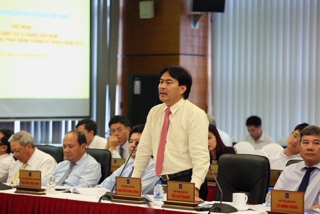Đại diện lãnh đạo PVN phát biểu tại hội nghị