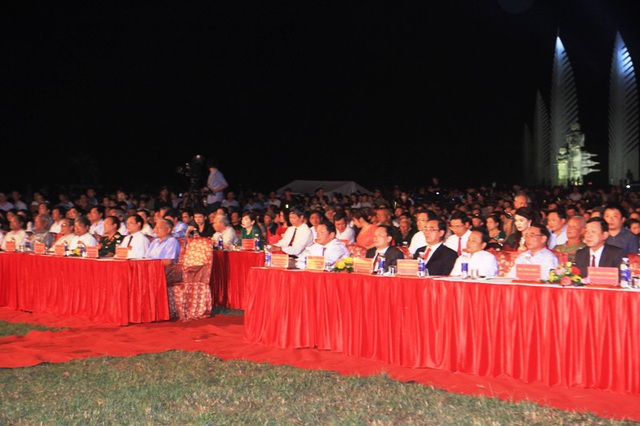 Đông đảo cán bộ lãnh đạo Trung ương và địa phương tham dự chương trình
