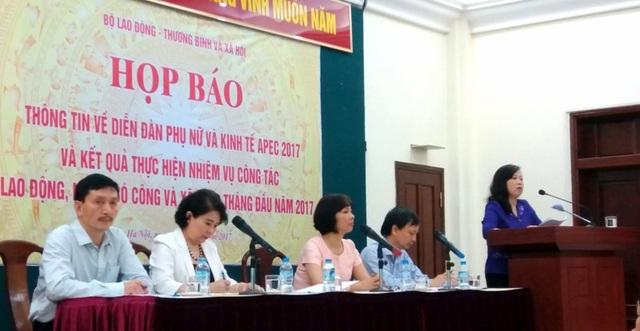 Bộ LĐ-TB&XH công bố kết quả 9 qua tháng thực hiện chính sách lao động việc làm.