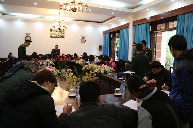 45 công dân tại Đồn biên phòngcửa khẩu quốc tế Hữu Nghị