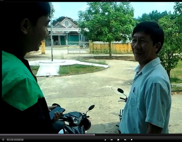 Một người dân xã Nhơn Tân (thị xã An Nhơn, Bình Định) lên xã làm việc phải ra về vì cán bộ xã nghỉ sớm (ảnh tư liệu)