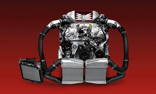 Động cơ trên chiếc Nissan GT-R Skyline 2017