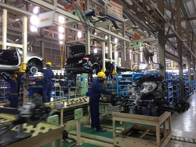 Nghị định 116 cũng siết mạnh các đơn vị sản xuất, lắp ráp ô tô trong nước.