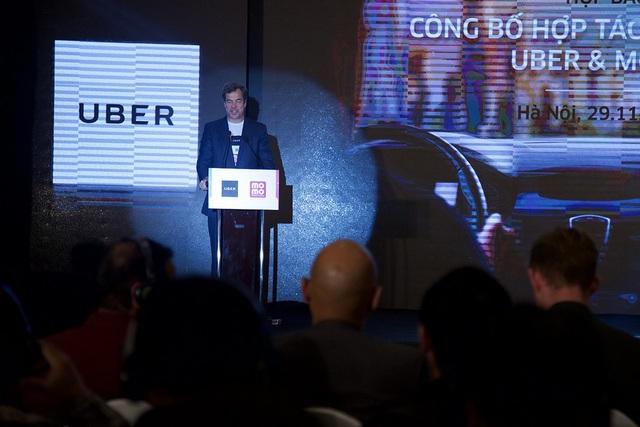 Ông Brooks Entwistle,Tổng Giám đốc Kinh Doanh Uber khu vực Châu Á - Thái Bình Dương