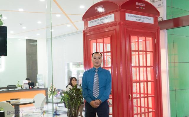 Ông Lê Anh Tuấn - Giám đốc Đại học Greenwich Việt Nam.