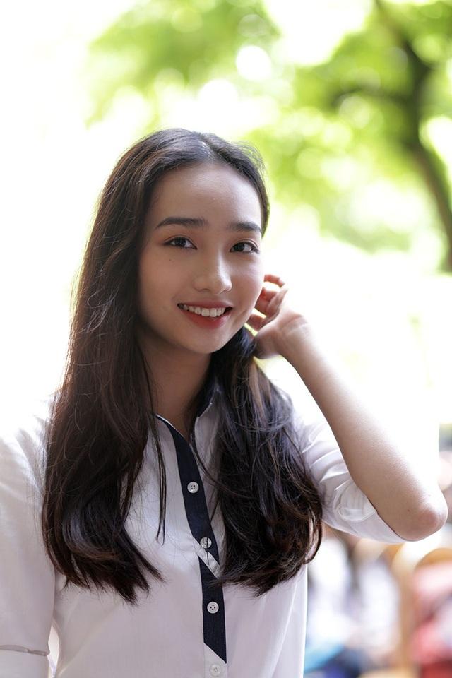 Bạn Lê Diễm Quỳnh - nữ sinh trường THPT Trần Phú