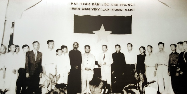 Đại hội mặt trận dân tộc giải phóng miền Nam.