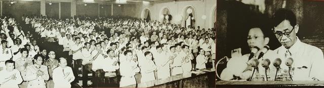 Đồng chí Lê Duẩn đọc Báo cáo Chính trị tại Đại hội lần thứ III của Đảng - Hà Nội, ngày 3/9/1960.