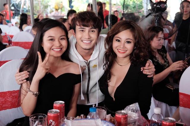 Mẹ con diễn viên Lê Giang và Huỳnh Lập