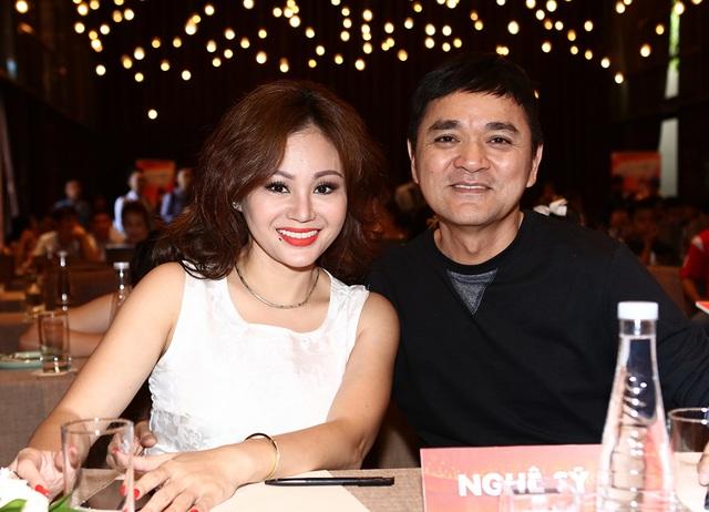 Diễn viên Lê Giang và Quốc Thảo