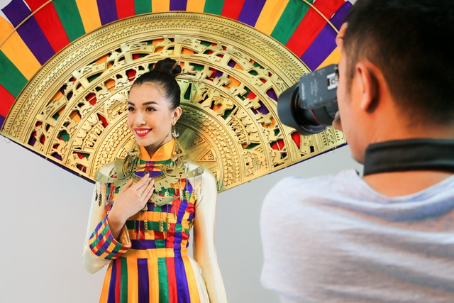 Những hé lộ đầu tiên về quốc phục của Lệ Hằng tại Miss Universe - 7