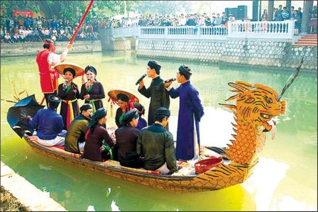Hội Lim được coi là nét kết tinh độc đáo của vùng văn hoá Kinh Bắc.