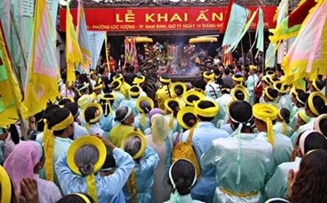 Khai ấn là nét đẹp trong văn hóa Việt.