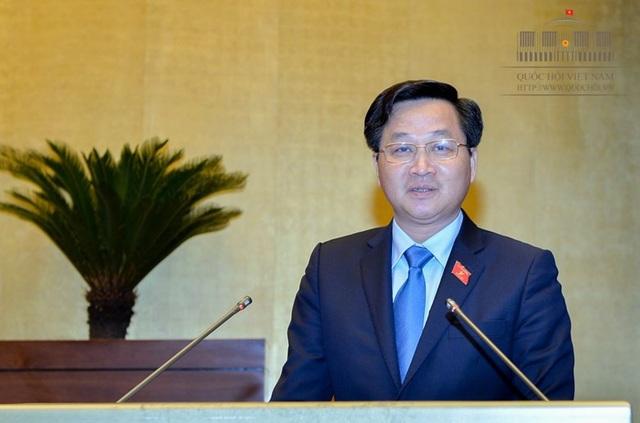 Tổng Thanh tra Chính phủ Lê Minh Khái (Ảnh: Quochoi.vn).