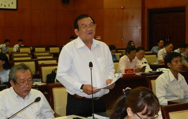 Ông Lê Minh Tấn – Giám đốc Sở Lao động – Thương binh và Xã hội TPHCM