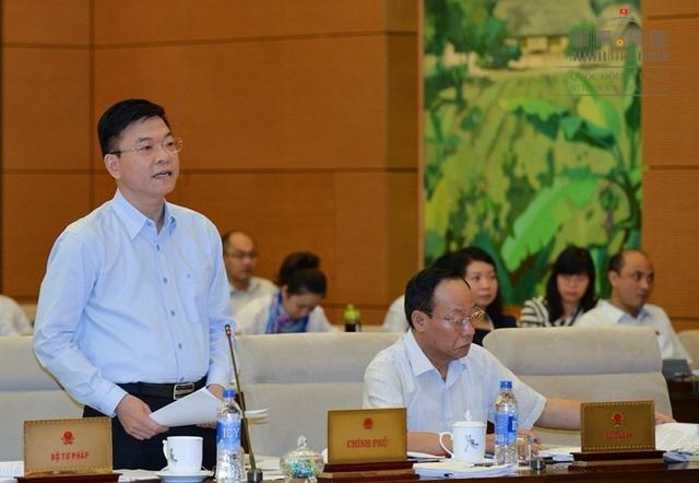 Bộ trưởng Tư pháp Lê Thành Long giải trình thêm về vấn đề bồi thường cho thân nhân người bị oan sai