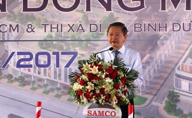 Phó Chủ tịch UBND TPHCM Lê Văn Khoa yêu cẩu chủ đầu tư, giám sát, đơn vị thi công đảm bảo chất lượng công trình, đúng tiến độ, đảm bảo an toàn lao động