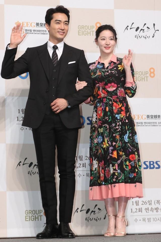 Lee Young Ae kết hợp với Song Seung Heon trong phim truyền hình mới.