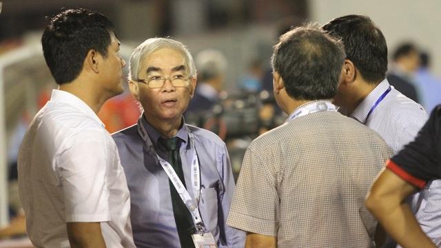 Ông Lê Hùng Dũng vẫn đang trực tiếp điều hành VFF, theo tiết lộ của uỷ viên thường trực VFF Trần Anh Tú (ảnh: Trọng Vũ)
