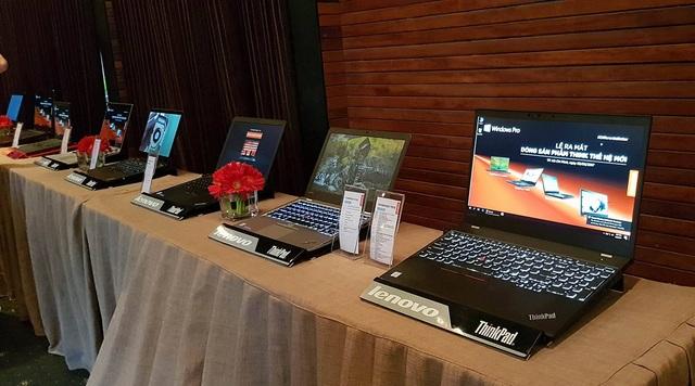 Dòng ThinkPad 2017 của Lenovo tại VN
