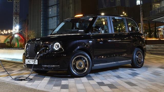 Taxi đen biểu tượng của London sẽ chạy bằng điện - 4