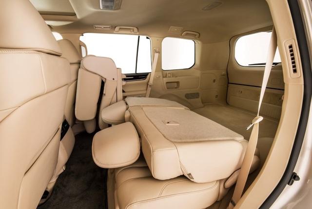 Lexus LX 570 có thêm phiên bản 5 chỗ - 5