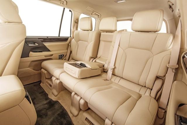 Lexus LX 570 có thêm phiên bản 5 chỗ - 9