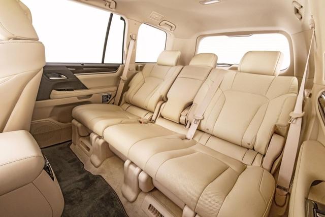 Lexus LX 570 có thêm phiên bản 5 chỗ - 12