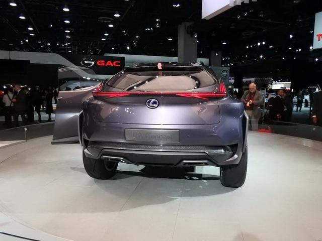 Lexus xác nhận sẽ sản xuất mẫu UX Concept - 8