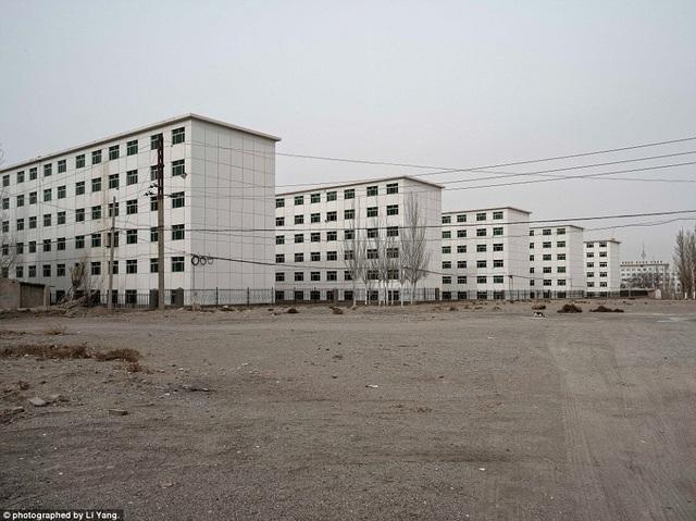 Đó là 404, một thành phố nằm sâu trong sa mạc Gobi.