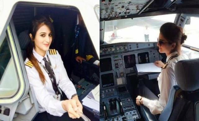 Nữ phi công Pakistan bất ngờ nổi tiếng vì xinh đẹp - 2