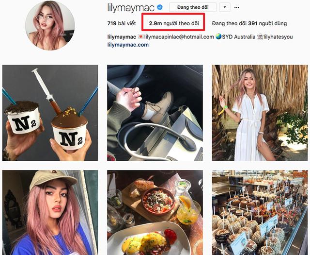Lily Maymac là một trong những hot girl có lượng theo dõi lớn nhất trên mạng xã hội Instagram (2,9 triệu người theo dõi). Cô nàng có vẻ đẹp lai Âu - Á vừa hiện đại, vừa quyến rũ đang là biểu tượng sắc đẹp mà nhiều cô gái hướng tới.